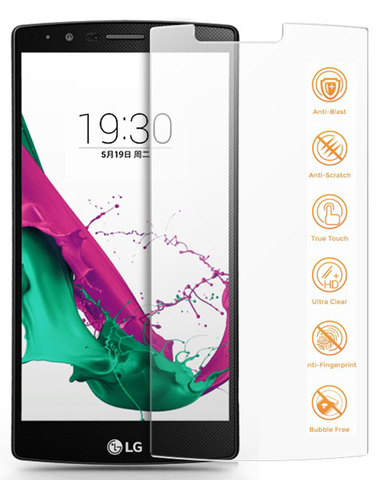 LG G4 - Premium Real Tempered Glass Screen Protector Film [Pro-Mobile]