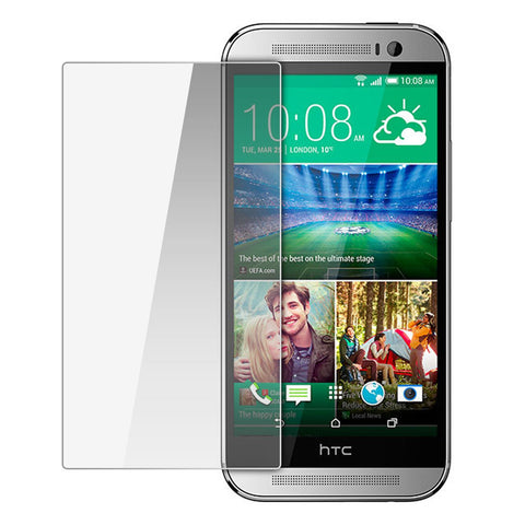 HTC One M8 - Premium Real Tempered Glass Screen Protector Film [Pro-Mobile]