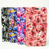 Apple iPhone XR - Floral Book Style Wallet Case