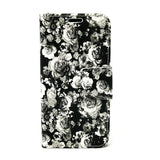 Apple iPhone 6 / 6S / 7 / 8 - Floral Book Style Wallet Case