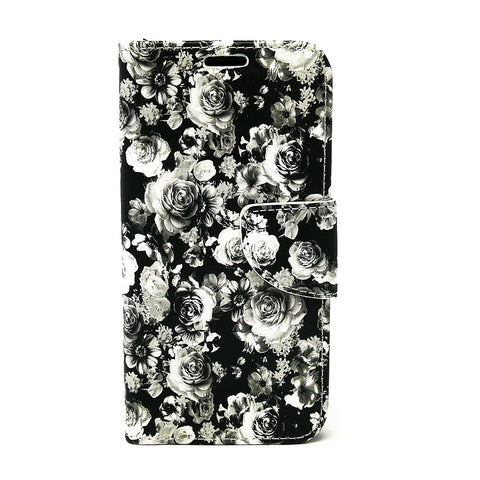 Samsung Galaxy A5 2017 - Floral Book Style Wallet Case [Pro-Mobile]