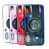 Apple iPhone XS Max - Holographic Camera Case with Pop Socket