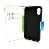 Apple iPhone X / XS - Magnetic Wallet Card Holder Flip Stand Case Design [Pro-Mobile]