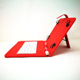 "Universal 10"" USB Keyboard Tablet - Leather Stand Case Smart Cover [Pro-Mobile]"