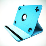 "Universal 10"" Tablet - 360 Rotating Leather Stand Case Smart Cover [Pro-Mobile]"