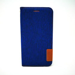 LG X Power 3 - TanStar Fabric Wallet Case with Magnetic Closure