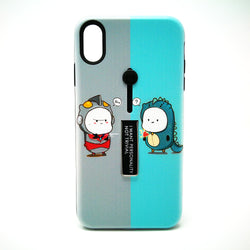 Apple iPhone X - I Want Personality Not Trivial Case with Kickstand Design