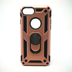 Apple iPhone 6+ / 6S+ / 7+ / 8 Plus - Transformer Magnet Enabled Case with Ring Kickstand