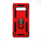 Samsung Galaxy S10e - Transformer Shockproof Magnet Case with iRing Kickstand [Pro-M]