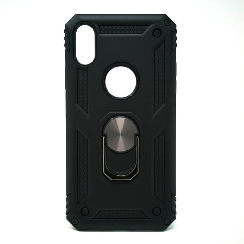 Apple iPhone XS Max - Transformer Shockproof Magnet Case with iRing Kickstand [Pro-M]