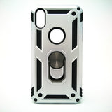 Apple iPhone XR - Transformer Shockproof Magnet Case with iRing Kickstand [Pro-M]