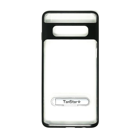 Samsung Galaxy S10 - TanStar Aluminum Bumper Frame Case with Kickstand