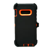 Samsung Galaxy S10 - Heavy Duty Fashion Defender Case with Rotating Belt Clip [Pro-Mobile]