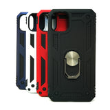 Apple iPhone 11 - Transformer Shockproof Magnet Case with iRing Kickstand [Pro-M]