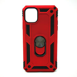 Apple iPhone 11 - Transformer Magnet Enabled Case with Ring Kickstand