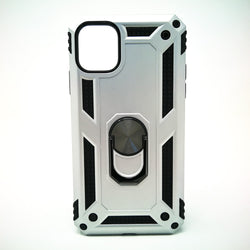 Apple iPhone 11 Pro - Transformer Magnet Enabled Case with Ring Kickstand