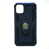 Apple iPhone 11 Pro Max - Transformer Magnet Enabled Case with Ring Kickstand
