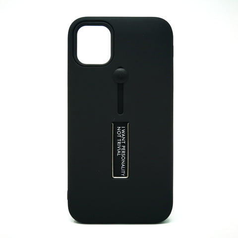 Apple iPhone 11 - Personality Ring Holder Hybrid Kickstand Case [Pro-Mobile]