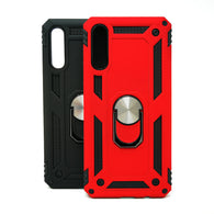 Samsung Galaxy A70 - Transformer Magnet Enabled Case with Ring Kickstand