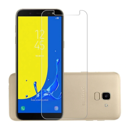 Samsung Galaxy J6 2018 - Premium Real Tempered Glass Screen Protector Film [Pro-Mobile]