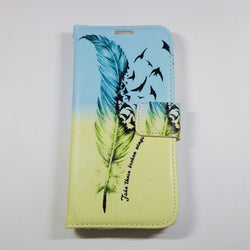 Samsung Galaxy S6 - Book Style Wallet Case with Design