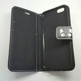 Apple iPhone 6G / 6S - Book Style Wallet Case with Design