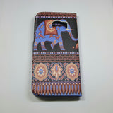 Samsung Galaxy S6 Edge - Book Style Wallet Case with Design