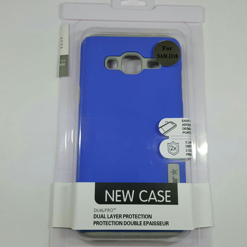 Samsung Galaxy J3 - TanStar Slim Hybrid Silicone Hard Dual-Layered Case [Pro-Mobile]