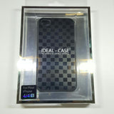 Apple iPhone 4 / 4S - Ideal-Case Rubber Rim Chessboard Edition Metallic Case