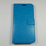 HuaWei Ascend G7 - Magnetic Wallet Card Holder Flip Stand Case Cover with Strap [Pro-Mobile]