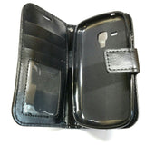 Samsung Galaxy Ace II X - Magnetic Wallet Card Holder Flip Stand Case Cover [Pro-Mobile]