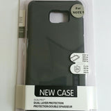 Samsung Galaxy Note 5 - TanStar Slim Hybrid Silicone Hard Dual-Layered Case [Pro-Mobile]