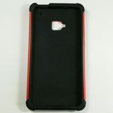 HTC One M7 - Football Shockproof Hard PC Silicone Case [Pro-Mobile]
