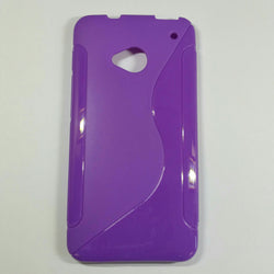 HTC One M7 - S-line Silicone Phone Case