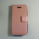 Apple iPhone 4 / 4S - Book Style Wallet Case with Strap