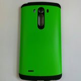 LG G3 - Polycarbonate Silicone with Hard Back Cover Case