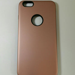 Apple iPhone 6G Plus / 6S Plus - Silicone With Hard Back Cover Case