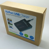10-Port USB Charger