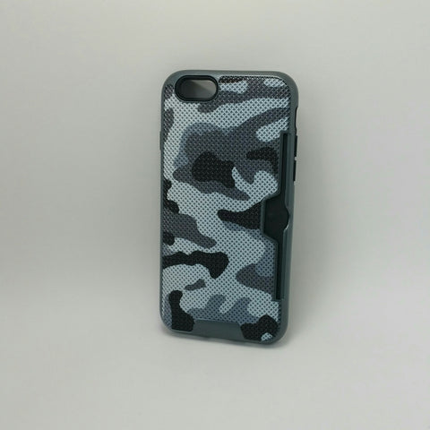 Apple iPhone 6G / 6S - Military Camouflage Credit Card Case