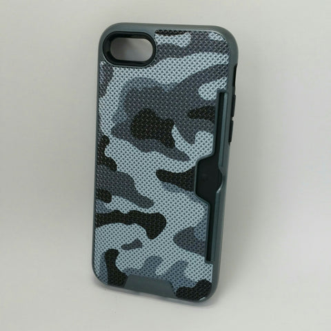 Apple iPhone 7 / 8 - Military Camouflage Credit Card Case