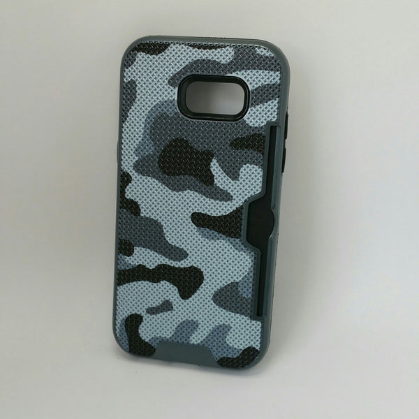 Samsung Galaxy A5 (2017) - Military Camouflage Credit Card Case