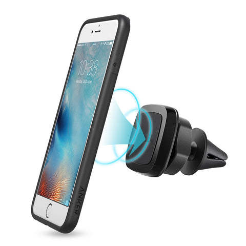 Heavy Duty Magnetic Car Air Vent Mount Holder (Mix Color)