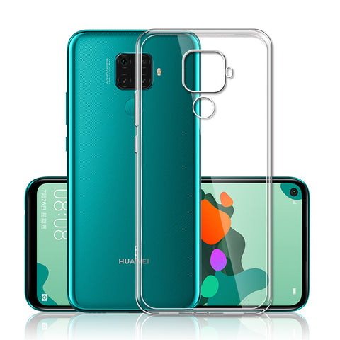 HuaWei Mate 30 Lite - Silicone Phone Case With Dust Plug