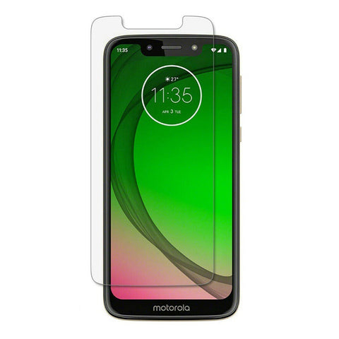 Motorola Moto G7 Play - Premium Real Tempered Glass Screen Protector Film [Pro-Mobile]
