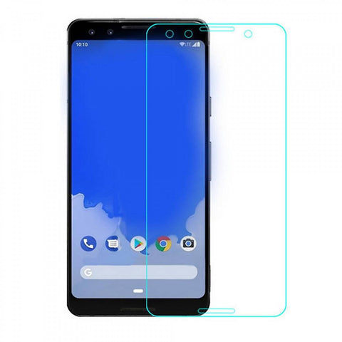 Google Pixel 3 - Premium Real Tempered Glass Screen Protector Film [Pro-Mobile]