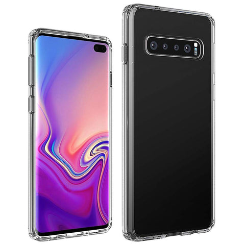 Samsung Galaxy S10 Plus - Silicone Phone Case With Dust Plug