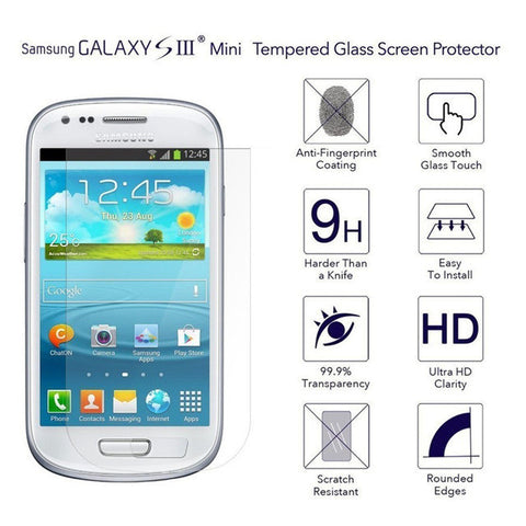 Samsung Galaxy S3 Mini Tempered Glass Screen Protector