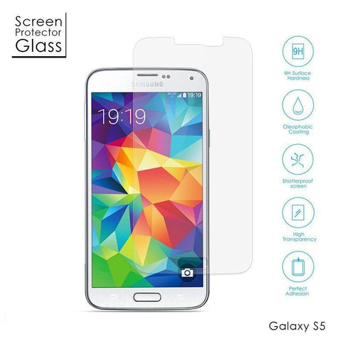 Samsung Galaxy S5 - Premium Real Tempered Glass Screen Protector Film [Pro-Mobile]