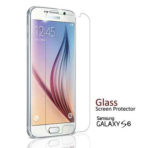 Samsung Galaxy S6 - Premium Real Tempered Glass Screen Protector Film [Pro-Mobile]