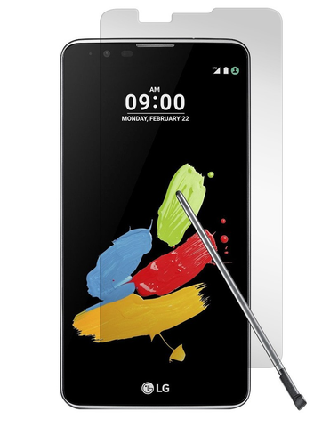 LG Stylo 2 / Stylo 2 Plus / Stylus 2 - Premium Real Tempered Glass Screen Protector Film [Pro-Mobile]